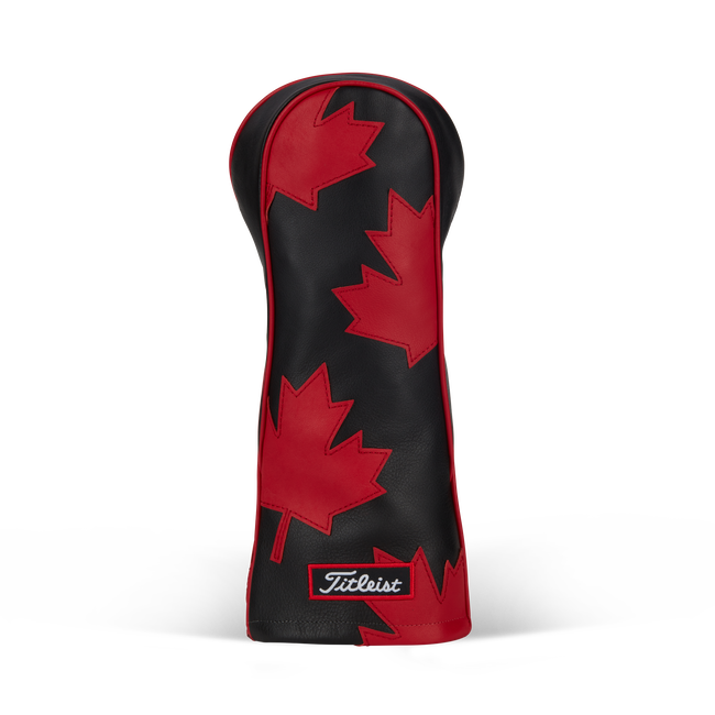 Canada Collection Leather 3 Panel Headcover