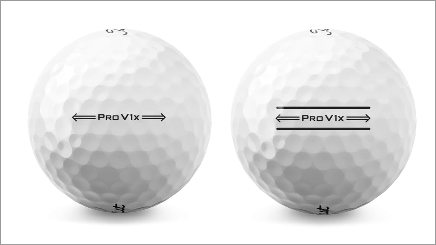 ...and 2021 Pro V1x golf balls.