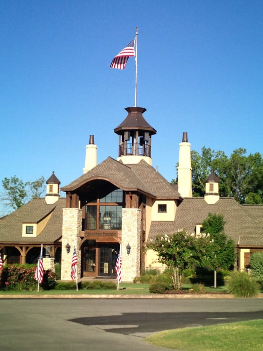 The clubhouse at The Patriot and home of the Folds...