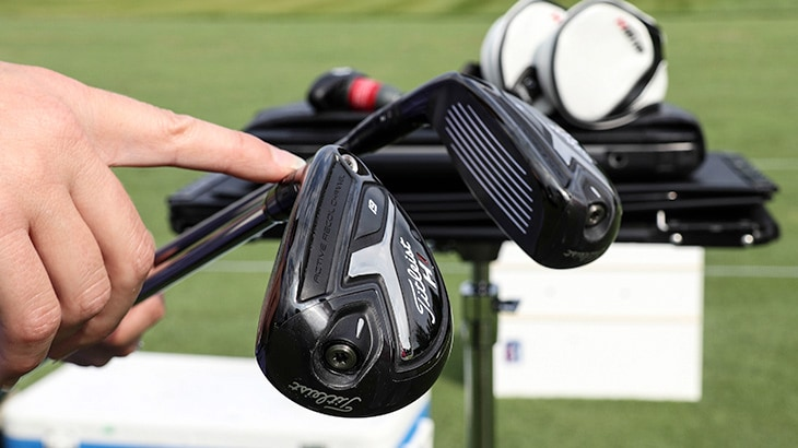 Players tried both the prototype Titleist 818 H1 a...