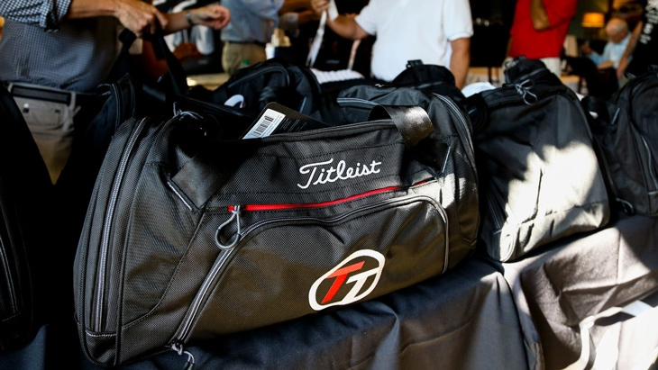 Invitational participants received a Titleist...