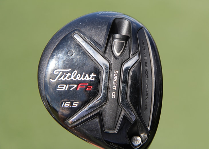 Chesson also carries a Titleist 917F2 fairway...