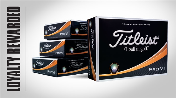 Loyalty Rewarded: It's How We Thank You for Trusting Titleist