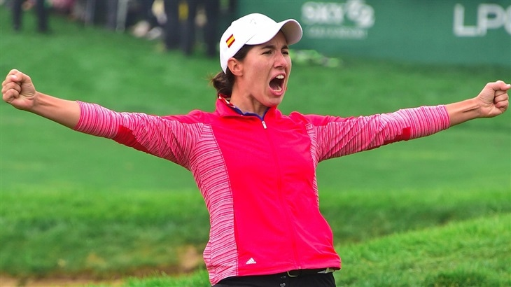 Ciganda prevails in all-Titleist playoff to capture first LPGA Tour crown