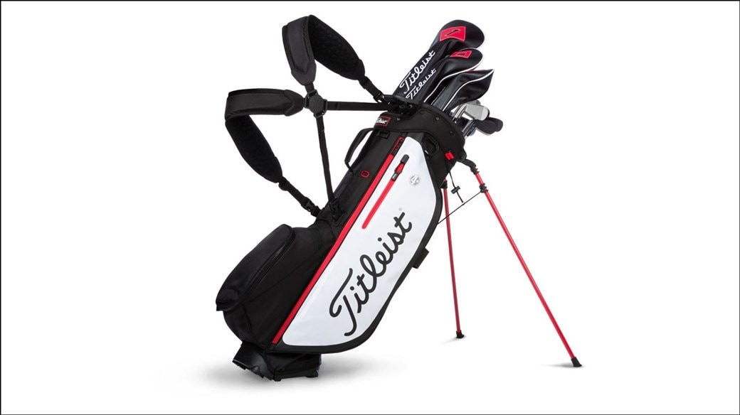 New 2019 Players 4 Plus Stand Bag