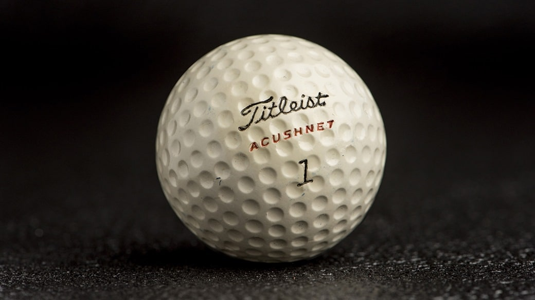 Photo of a Titleist Golf Ball, circa 1947