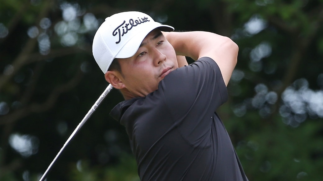 Titleist Brand Ambassador WonJoon Lee, winner of the 2019 KPGA Championship