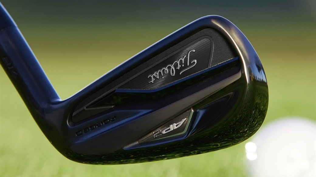 Titleist Introduces 718 AP3 and AP2 Irons in Limited Black Finish