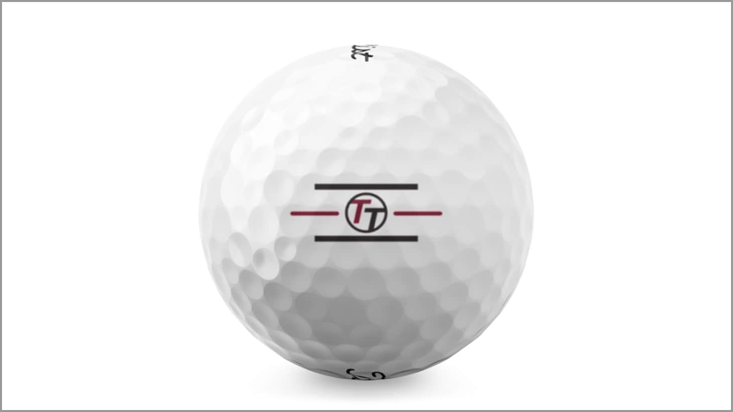One of the custom alignment logo options available at Titleist.com