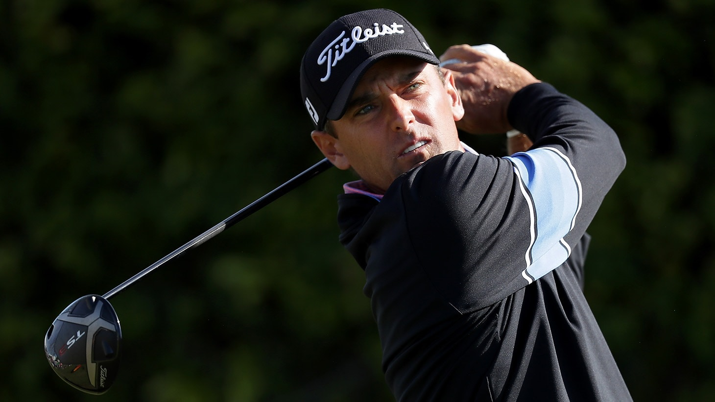 Charles Howell III tees off with the Titleist TS3 driver