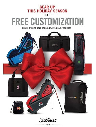 Gear Holiday Special Offer: Free Customization