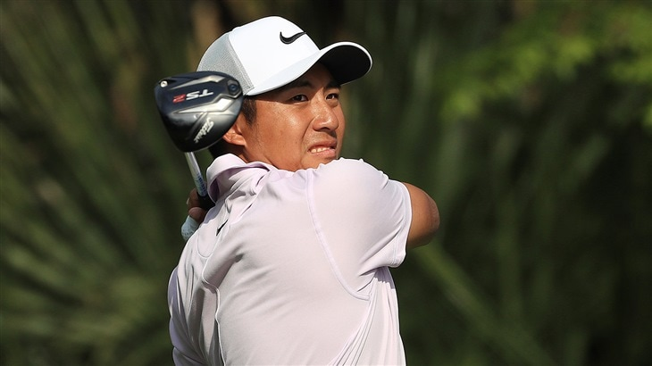 C.T. Pan Tees of at Harbour Town Golf Links with his Titleist TS2 driver